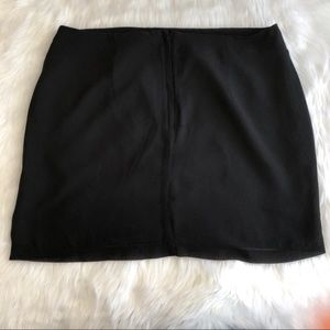 H&M Skirts - H&M • Black Sparkle Mini Skirt